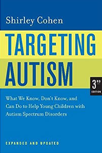 Targeting Autism by Shirley Cohen