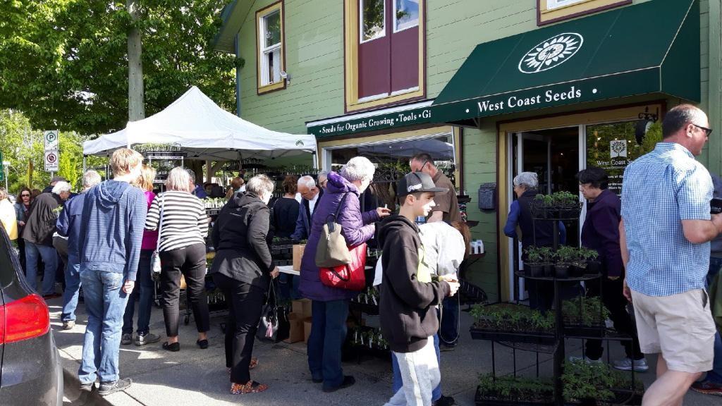 Westcoast Seedling Sale Raises $3750 Towards Building For Children Together