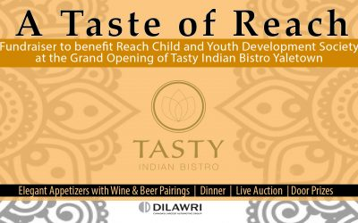 2nd Annual A Taste of Reach Fundraiser