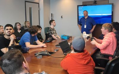 GCT TEENSS youth visit GCT Deltaport