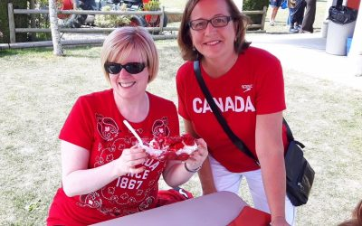 Canada Day Strawberry Fundraiser at Emma Lea