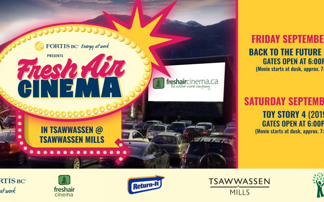 Tsawwassen Mills Movie Night Benefits REACH