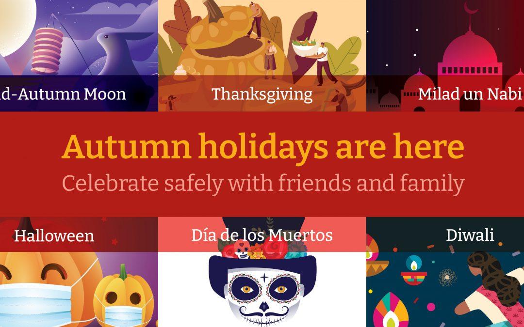 Celebrating Autumn Holidays Safely
