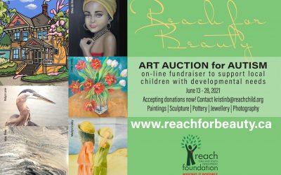 Reach for Beauty 2021 – Art Auction for Autism